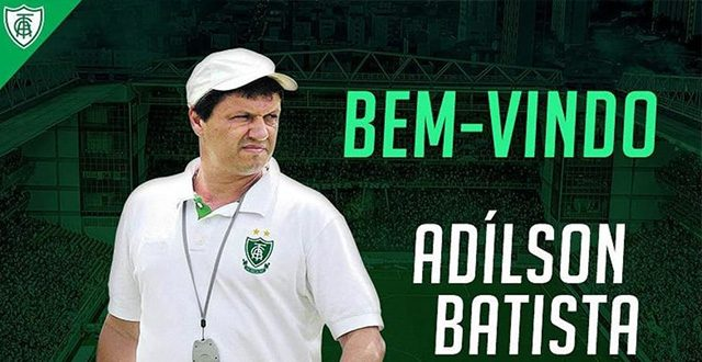 América-MG anuncia Adílson Batista novo treinador